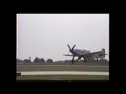 3 P51s Decatur Airshow 1991
