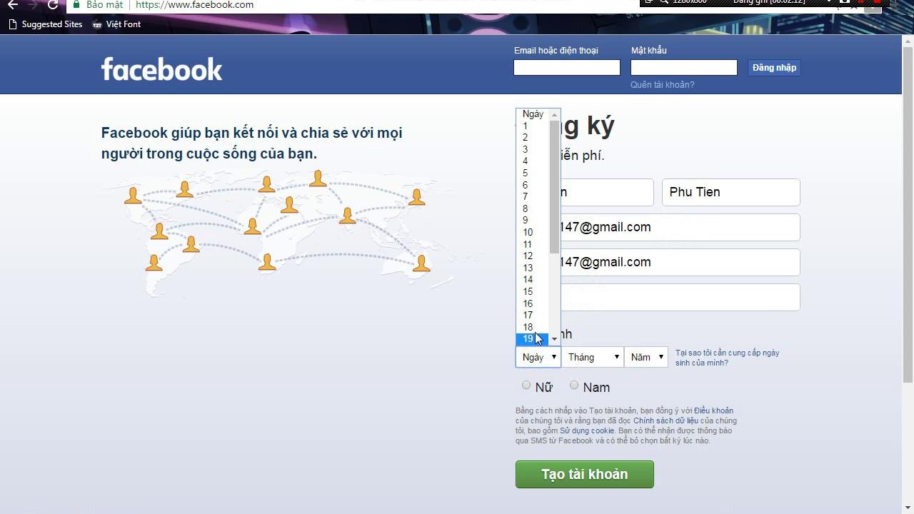 Hướng Dẫn Reg Clone Facebook Bằng Email 10p