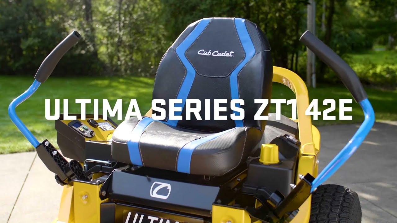How to Operate Your Electric Zero-Turn Mower   Ulitma ZT1 42E  Cub Cadet
