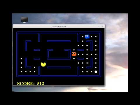 Using Reinforcement Learning to play Pac-man