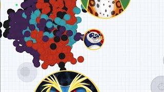 1 PRO PLAYER VS 1001 NOOBS!!! ( Agario Mobile)