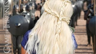 EASY Daenerys Targaryn Inspired Hair Tutorial! Thumbnail