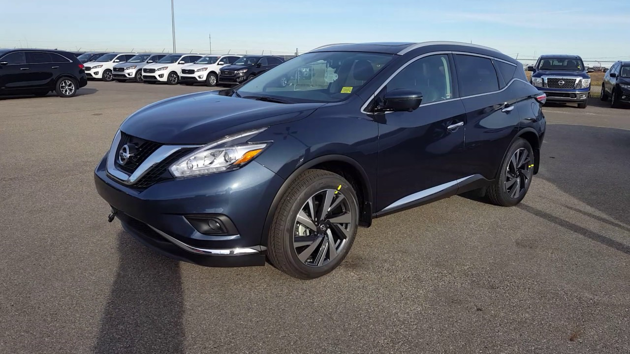 2017 nissan murano platinum arctic blue sherwood nissan youtube. Black Bedroom Furniture Sets. Home Design Ideas