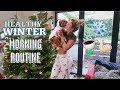 MY HEALTHY WINTER MORNING ROUTINE & COMING HOME FROM THE MALDIVES! VLOGMAS 9