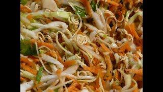 Вкусный салат из капусты на каждый день