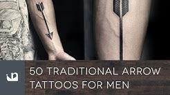 50 Traditional Arrow Tattoos For Men