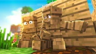 Minecraft: SKY WARS LUCKY - DISFARCE DE MADEIRA - ‹ JUAUM › #01