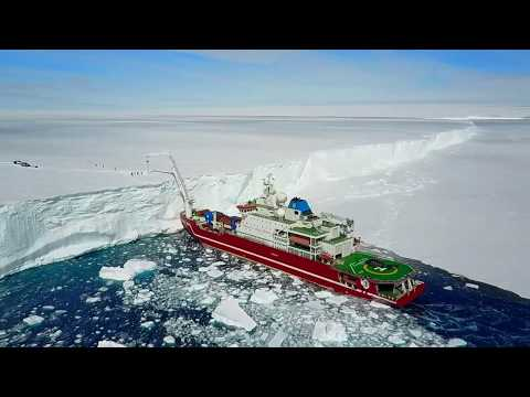 Arctic Trucks Exploration:  Icebreaker Ship Arrival