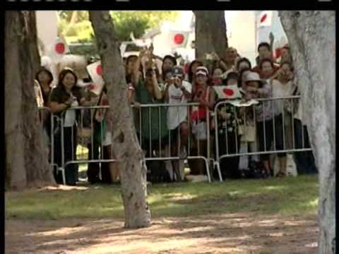 Japanese Royals Greet Hawaii Residents at Kapiolani Park