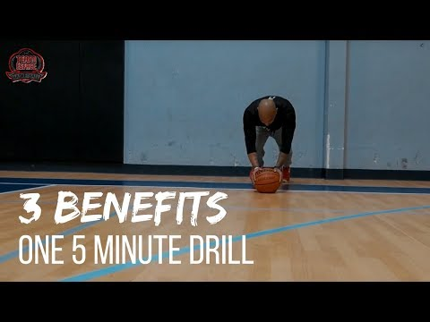 IMPROVE Your Ball Handling, Footwork, and Core Anywhere | Daily 5 Minute Basketball Drill
