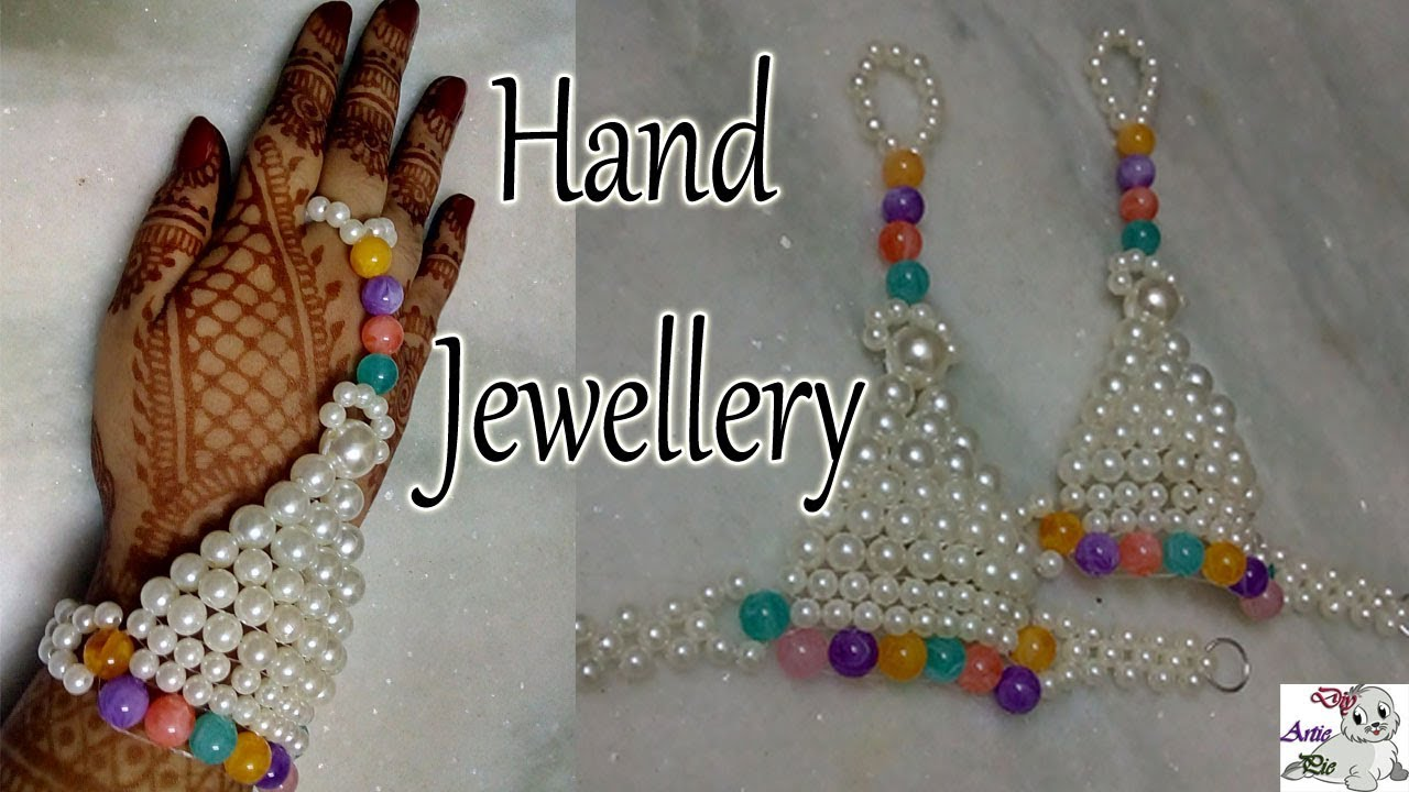 47 How To Make Pearl Beaded Hand Accessories Ratanchur