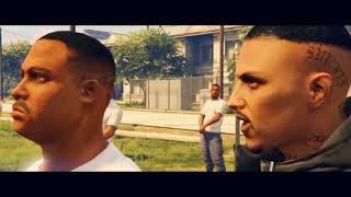Yg Ft.Asap Rocky - Handgun (Gta Music Video)