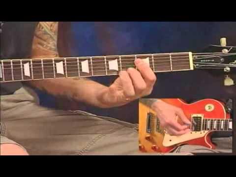 John Cougar Mellencamp Guitar Riff Youtube
