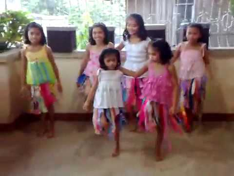 WAKA WAKA Dance TUTORIAL by FILIPINO KIDS   Best Dance Steps