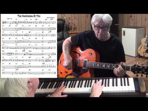 The Nearness Of You - Jazz guitar & piano cover ( Hoagy Carmichael )
