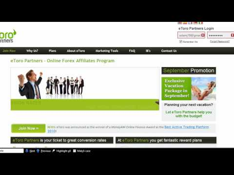 Forex broker affiliate programm