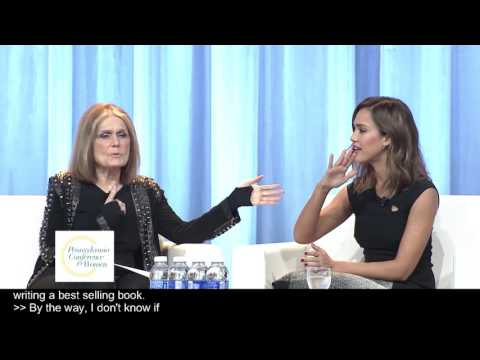 A Conversation with Gloria Steinem, Jessica Alba and John Jacobs at the PA Conference for Women