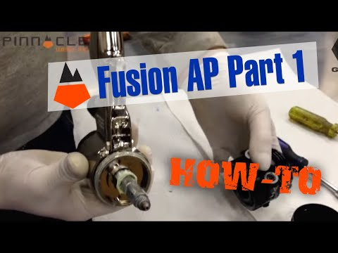 HOW TO: Graco Fusion AP Spray Gun Rebuild - Part-1 Www.purepoly.com