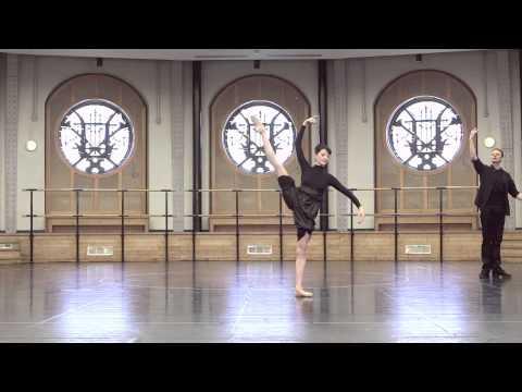 """""""Sur les Pointes avec une Etoile"""" Isabelle Ciaravola, Master Class Andrey Klemm"""