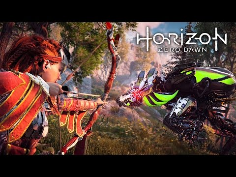 Horizon Zero Dawn - EPIC MONSTER MACHINES!! (HORIZON ZERO DAWN Gameplay Walkthrough Part 3)