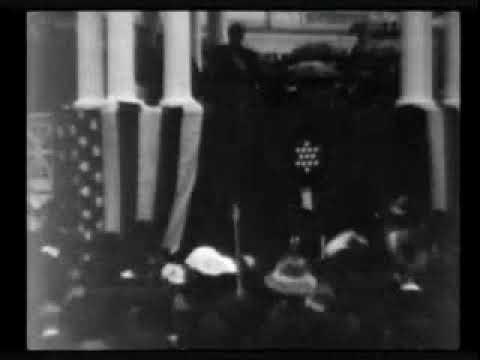 Президент МакКинли принимает присягу President McKinley Taking The Oath ( 1901 год )