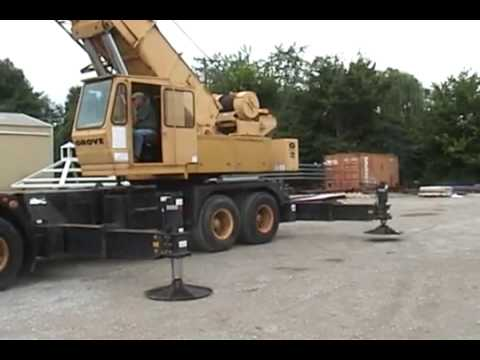 Grove TMS475-LP Crane