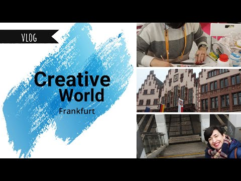 Vlog Creative World Frankfurt 2020 | Scrapbooking