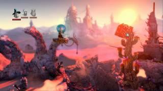 Trine 2 Goblin Menace - Chapter 2 - Deadly Dustland - DLC Playthrough 1080p HD
