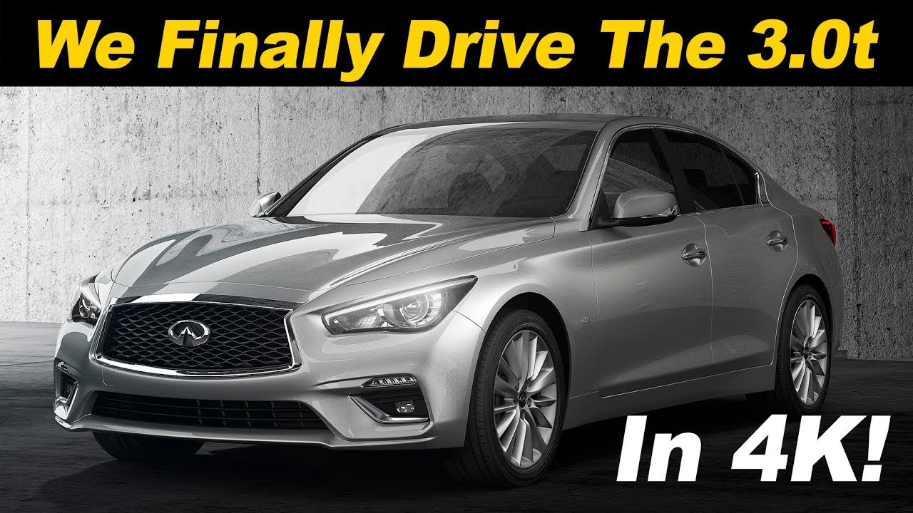 2018 infiniti q50 3 0t review and road test in 4k