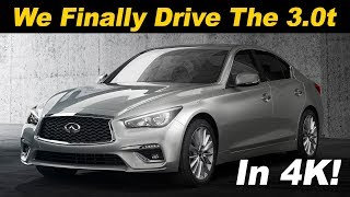 2018 Infiniti Q50 3.0t Review and Road Test In 4K