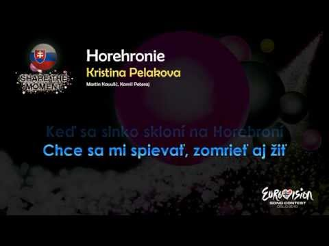 "Kristina Pelakova - ""Horehronie"" (Slovakia) - [Karaoke version]"