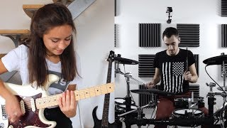 Скачать Red Hot Chili Peppers By The Way Cover By Chloé Quentin Brodier