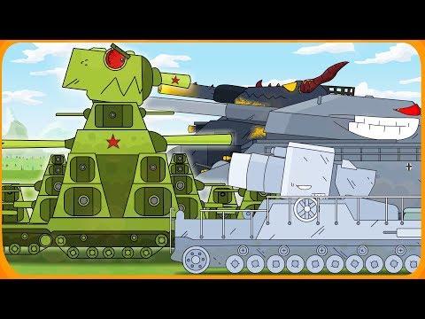 Все серии Советского монстра + скрытая пасхалка Мультики про танки