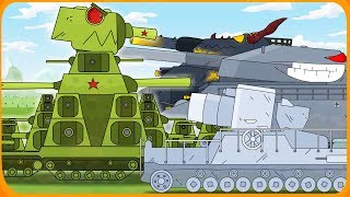 All series of Soviet monster + hidden Easter eggs Cartoons about tanks