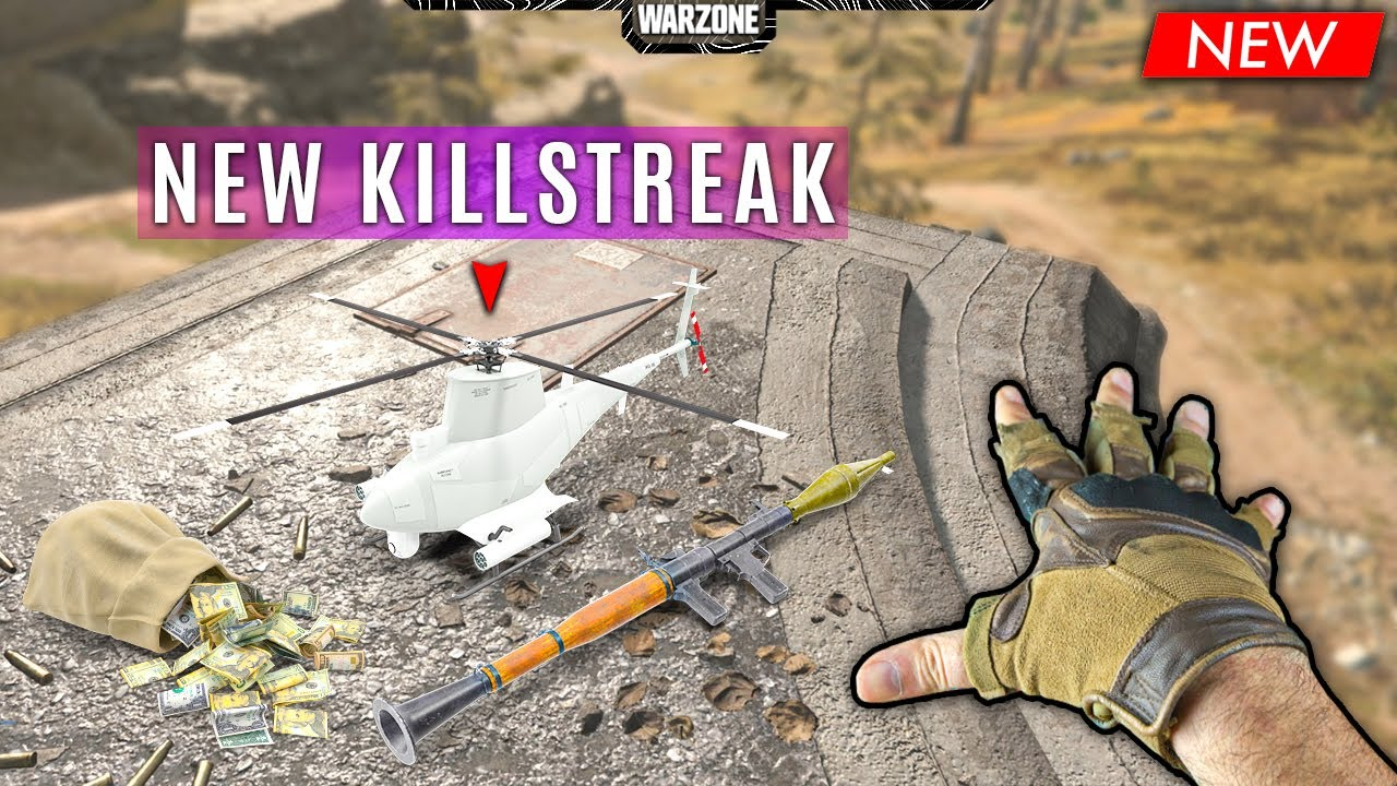 NEW Killstreak Found! (Warzone Funny Moments and BEST Moments #110)