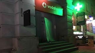 Очередной взрыв в Киеве! Пострадал магазин Vodafone Ukraine