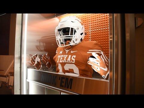 Texas Football New Locker Feature [April 19, 2017]