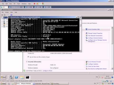 1 Active Directory, Domain Kavramları, Domain Kurulumu