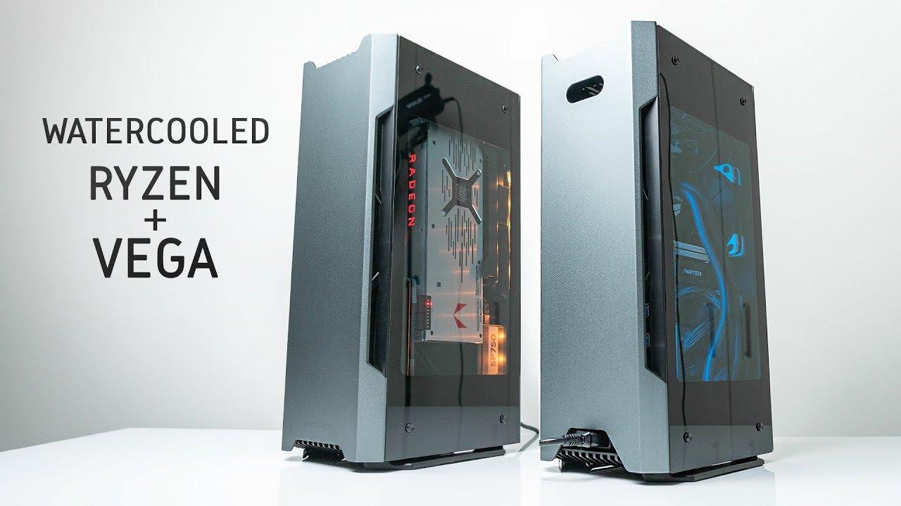 Evolv Shift Dual Aio Build Ft Ryzen Amp Vega 64