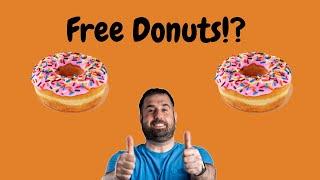 Free Donuts at Dunkin Donuts  Plus Bonus Review of Chocolate Stout Cold Brew with Sweet Cold Foam
