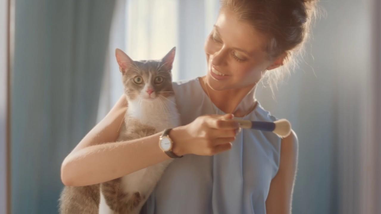 Реклама нивея кот