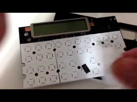 Consertando o teclado da HP12C How to repair Calculators HP12C