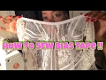 HOW TO USE, WEAR, & SEW BIAS TAPE !! - Classic Royalty