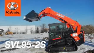 Just In: Kubota SVL95-2s Compact Track Loader