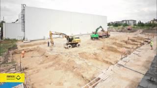 видео Земляные работы и забивка железобетонных свай