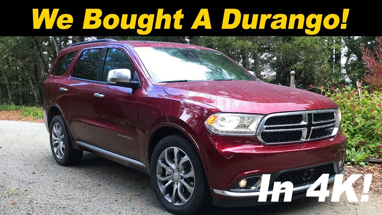 why i bought a 2018 dodge durango 2018 durango review youtube. Black Bedroom Furniture Sets. Home Design Ideas