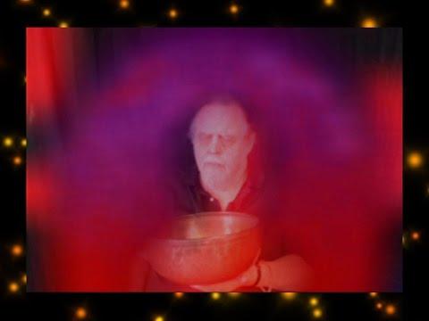 Aura Imaging Using a Tibetan Singing Bowl