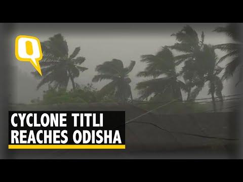 Cyclone Titli Makes Landfall Near Odisha's Gopalpur I The Quint