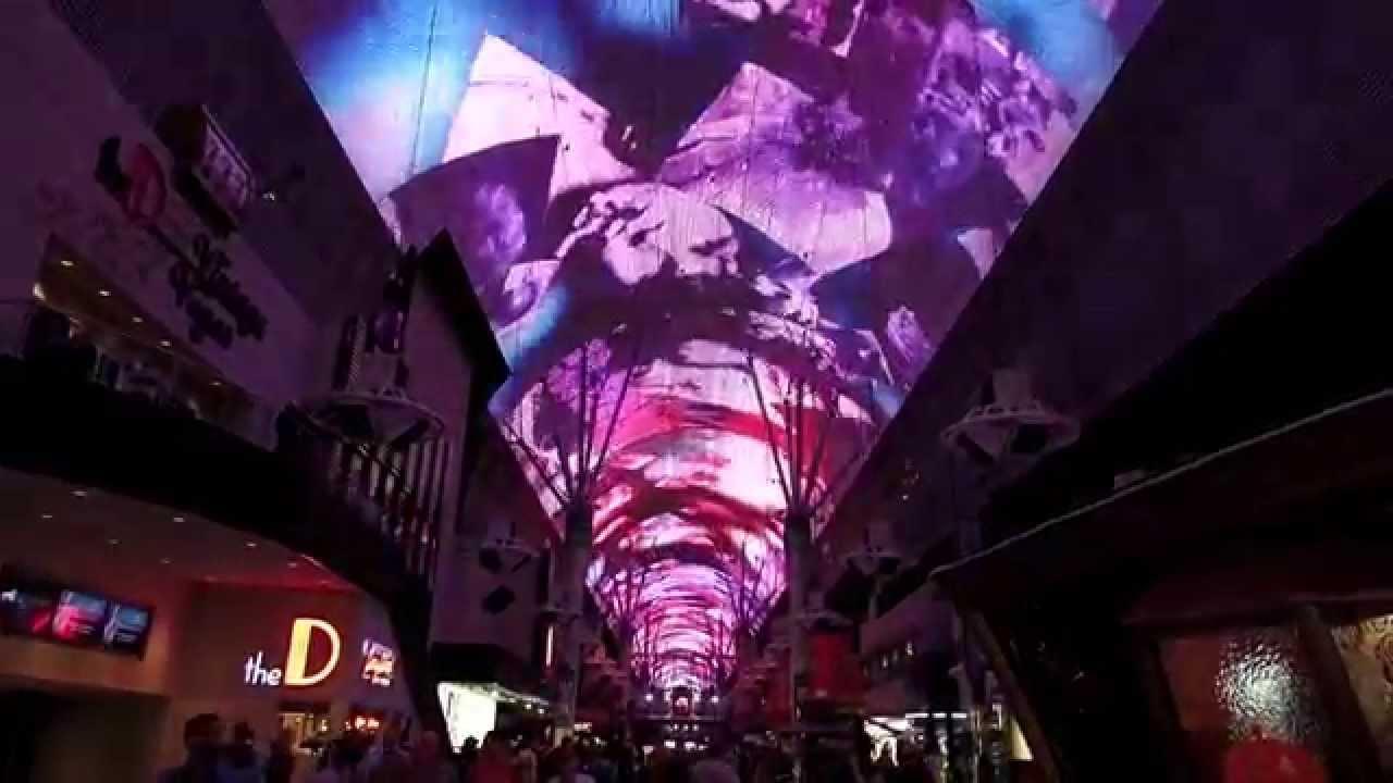 Downtown Las Vegas Light Show   The Doors   YouTube