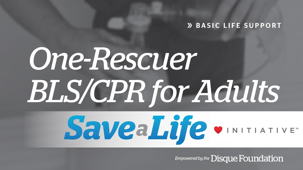 2a one rescuer blscpr for adults basic life support bls youtube one rescuer blscpr for adults basic life support bls 1betcityfo Image collections